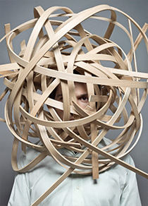 """Wood Loop"", making of the Gewerbemuseumsstuhl, Winterthur, CH"
