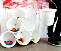 Samsa Bucket 6/ € 90.- ab Hof (product in stock)