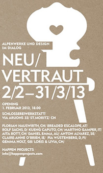 Neu / Vertraut; introducing interventions on traditional chairs @ St.Moritz, CH // 02.02.13.