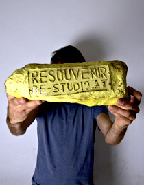 "ReSOUVENIR. Shelter - Treasure - Totem. a project for ""Design Exquis 2012"""